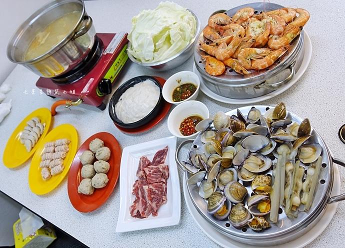 0 雙月牌沙茶爐 双月牌沙茶爐 海鮮疊疊樂蒸籠宴 新莊美食 台南熱門美食