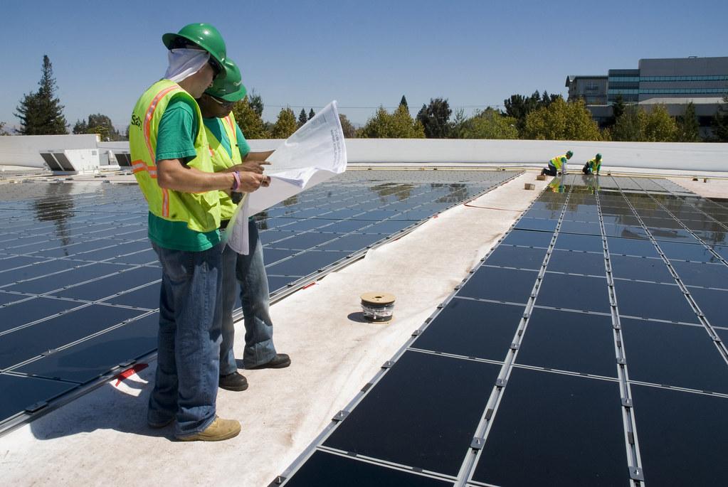 Image result for solar worker