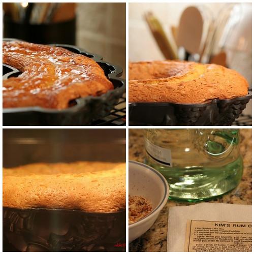 Rum In Cake Icing