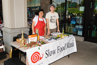 Dania Katz and Laura Burkhart | by Slow Food Maui