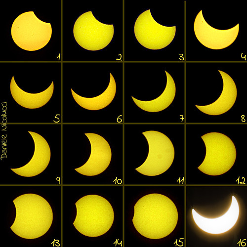 Partial solar eclipse of Jan 4, 2011 from Central Italy + sunspot | by Daniele Nicolucci photography