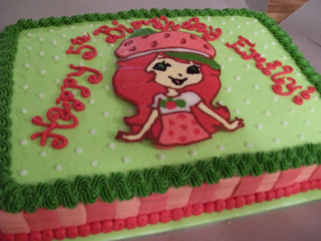 Strawberry Shortcake Birthday Cake Strawberry Shortcake Bi Flickr