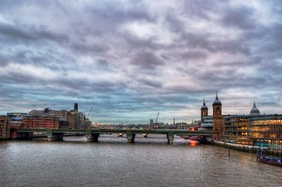 A view from London Bridge | by yorkshire stacked