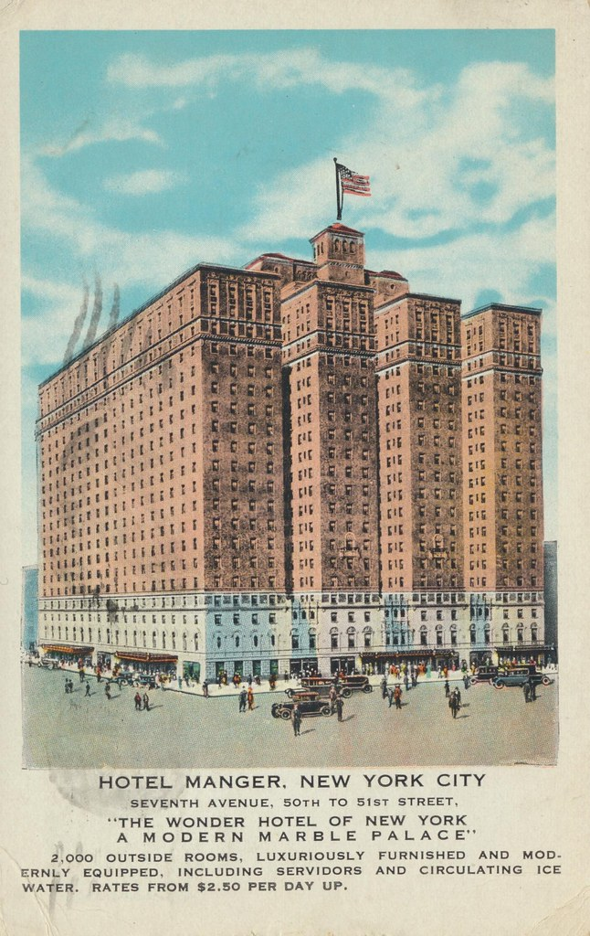 Hotel Manger - New York, New York