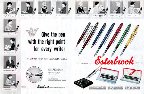 Esterbrook Pens ad | by wardomatic