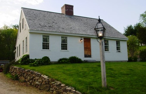 Reproduction cape cod style home less than 10 years old for Reproduction homes