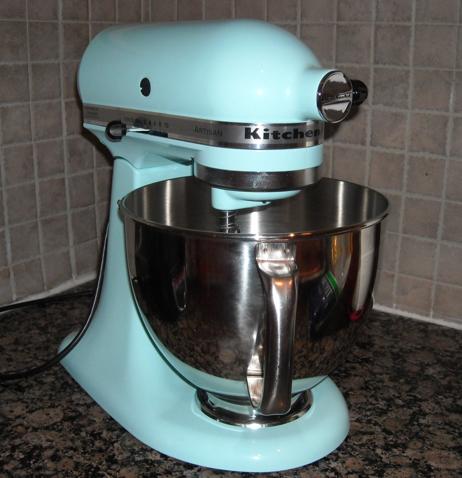 Kitchen Aid Ice Blue My New Kitchenaid Ice Blue Isnt It Pretty So Small Comp Flickr