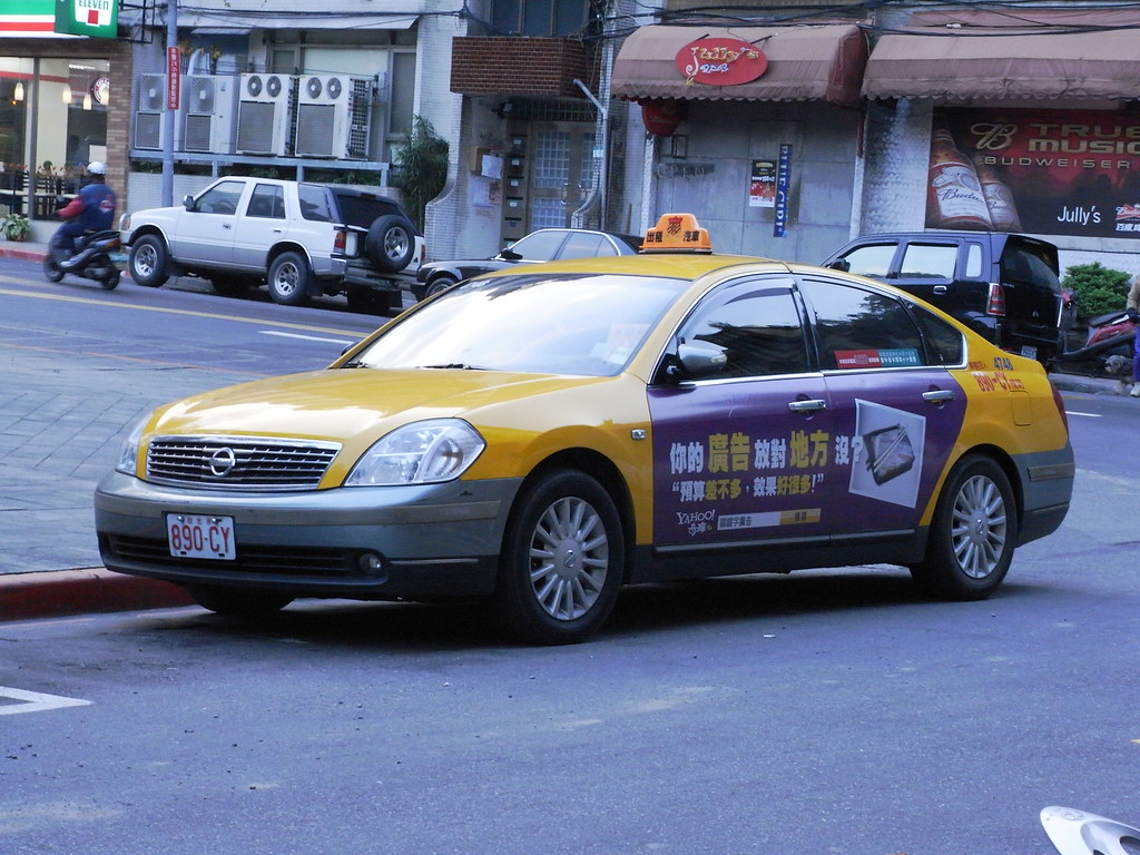 такси nissan teana