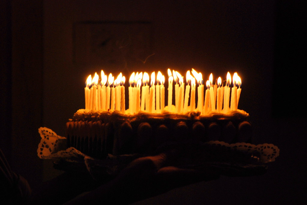 50 Candles Birthday Cake Doris Neuhofer Flickr