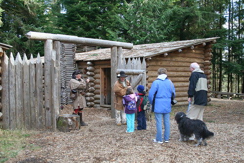 Fort Clatsop Wintering Over | by OCVA