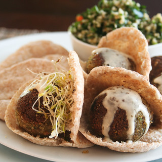Falafel Pita-6 | by Sonia! The Healthy Foodie