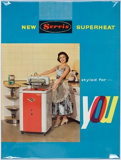 Servis Superheat Washing Machine Poster (Poster 21) | by Black Country Museums