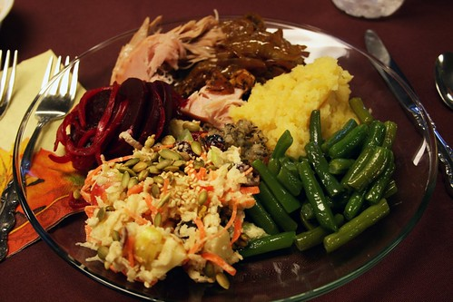 My Thanksgiving Plate | by Kim | Affairs of Living