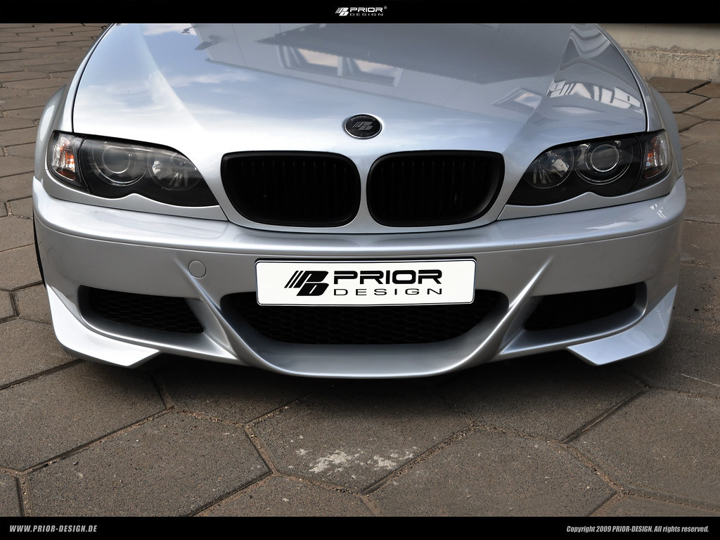... prior-design bmw E46 3-series 328 335 limousine aerodynamic bodykit  front side rear