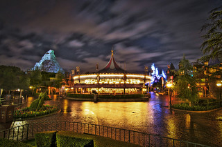 Rainy Night In Fantasyland | by WJMcIntosh
