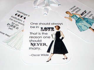 Funny Marriage Quotes Gift Tags | by Miss Teacher Lady