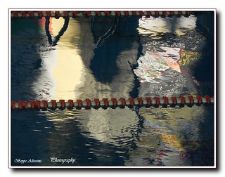 Abstract reflections in the pool | by Beppe Altissimi