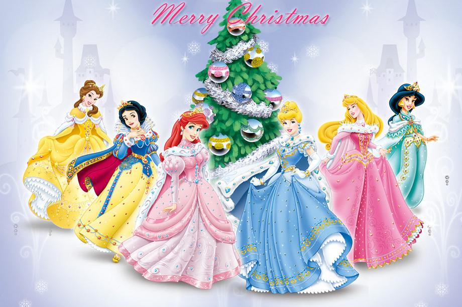 Merry Christmas From The Disney Princess