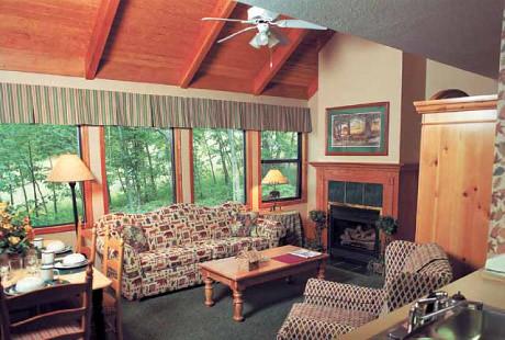 villa living room christmas mountain village by bluegreen vacation - Bluegreen Christmas Mountain