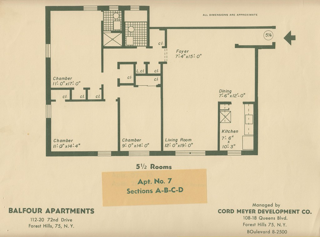 Balfour 112 20 72nd dr forest hills ny blueprint 7 flickr balfour 112 20 72nd dr forest hills ny blueprint 7 by rego forest malvernweather Gallery