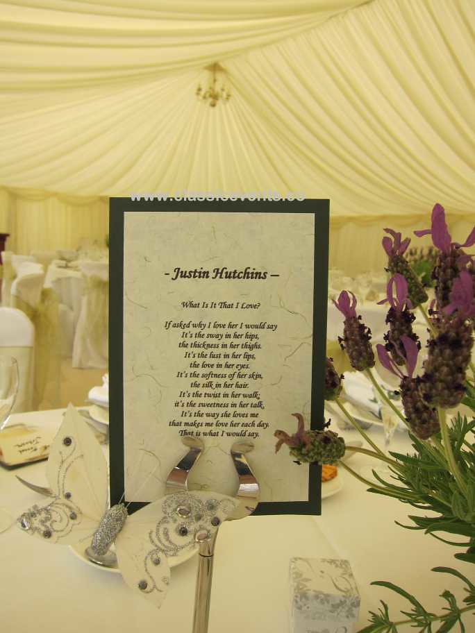Classic Events Butterfly Themed Country Wedding Love Poems Flickr