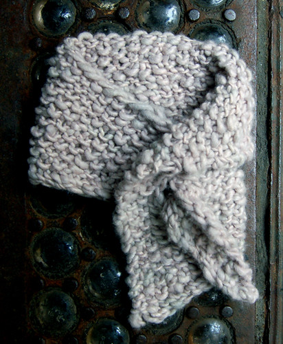 Whit's Knits: Just In Time Neck Cozy | by the purl bee