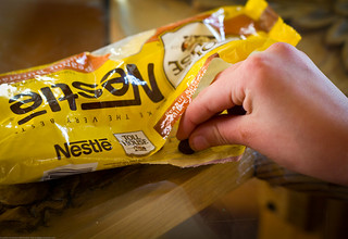 Snitching Nestle Chocolate Morsels | by Dave Dugdale
