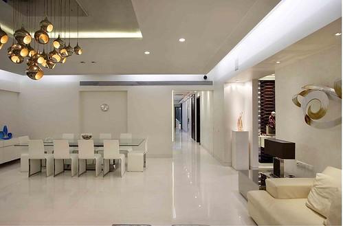 Living Room Interiors Passageway Spacious By Mahesh Punjab Flickr