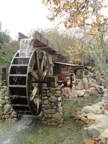 how to make a water wheel