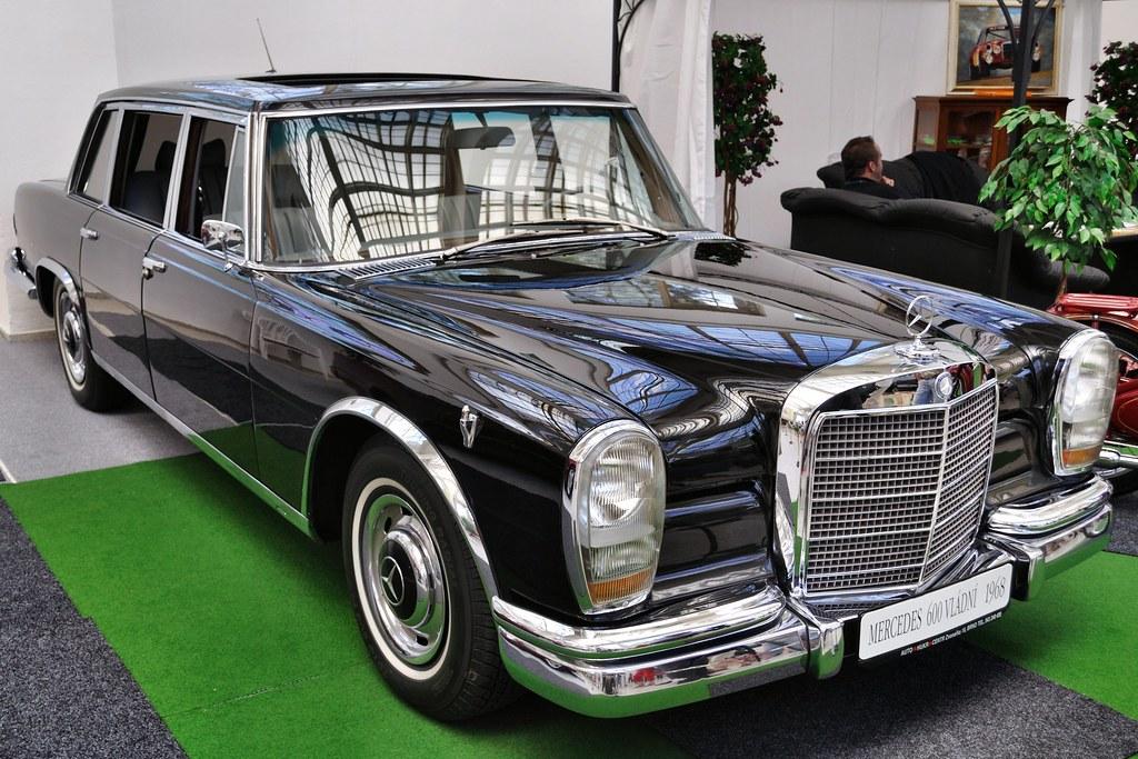 1968 mercedes 600