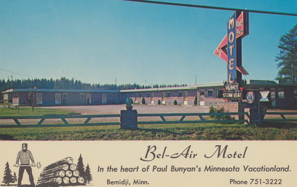 Bel-Air Motel - Bemidji, Minnesota