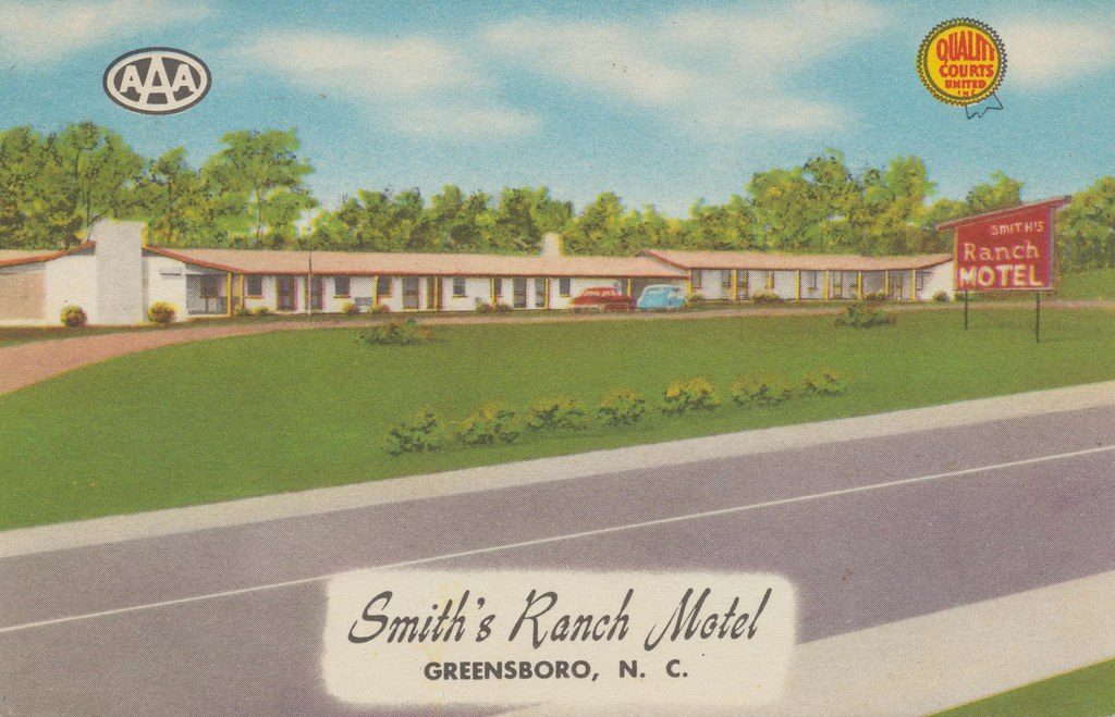 Smith's Ranch Motel - Greensboro, North Carolina