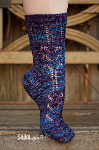 Traveling Socks | by femme fatale fibers