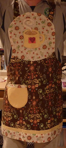 Coffee apron, McCalls 6132 Full view | by Pavlina20