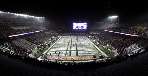 Pre-game of MNF at TCF Bank Stadium | by Icedavis