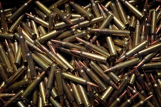 5.56mm Ammunition Rounds for SA80 Rifle | by Defence Images