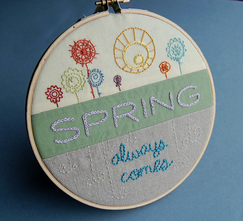 Spring Embroidery | by septemberhouse