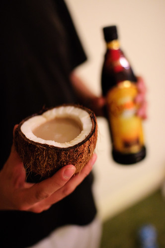 Kahlua in a coconut | by Lucas Maystre