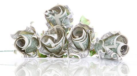 Money Origami Rose Handmade Valentines Day Gift Idea Flickr
