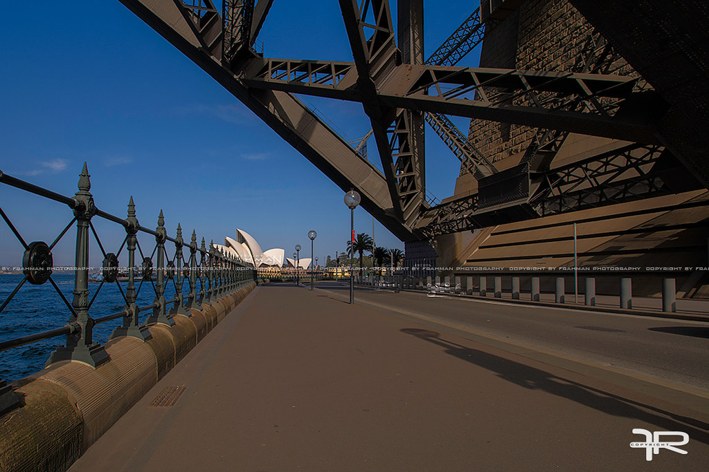Underneath The Harbour Bridge   The Sydney Harbour Bridge is…   Flickr