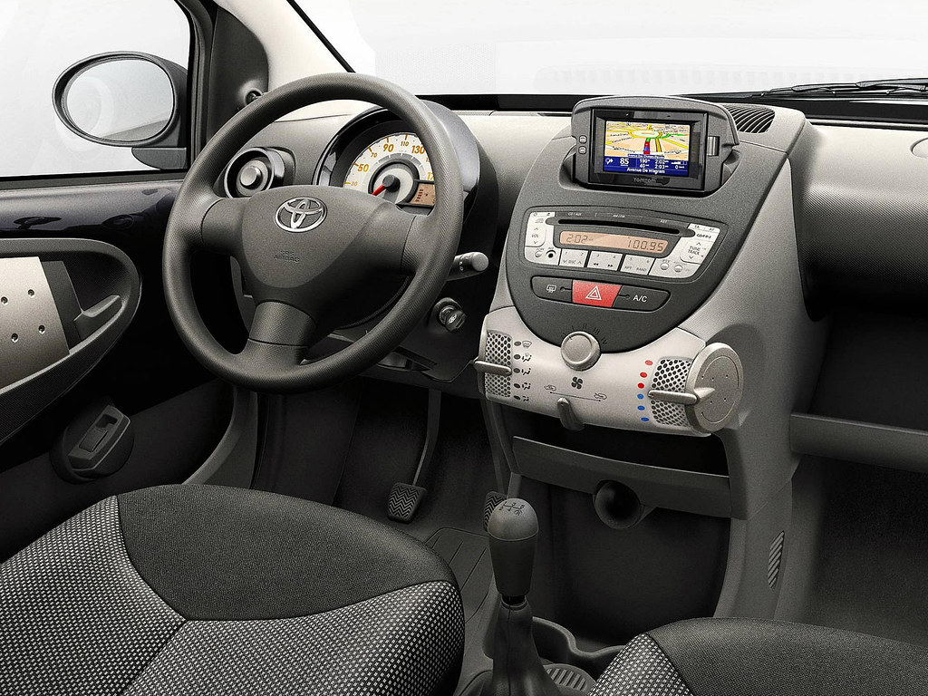 Toyota Aygo Connect 2010 Interior | Toyota Motor Europe | Flickr