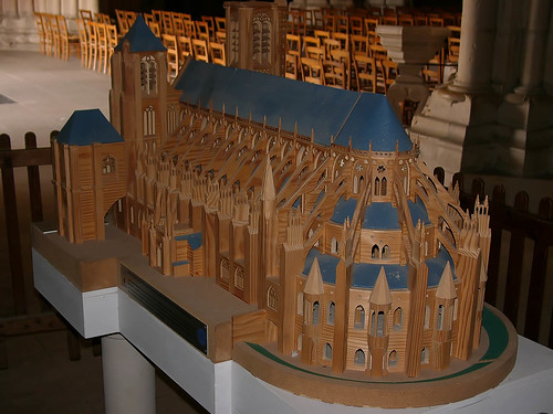 Bourges Cathedral Model | by Stan Parry