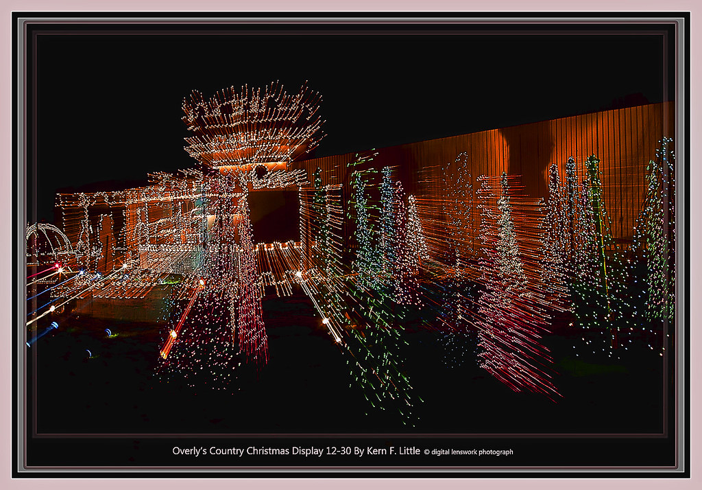 overlys country christmas display 12 30 by kern f little topaz - Overly Country Christmas
