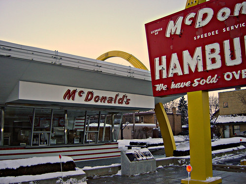 "McDonalds ""Store Number ONE""   ~ 1 of 3 photos 
