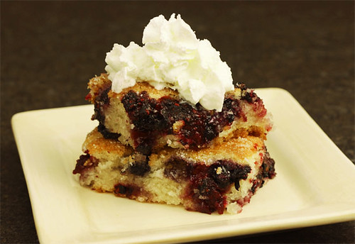 Blackberry cobbler | by Inspire. Create. Bake.