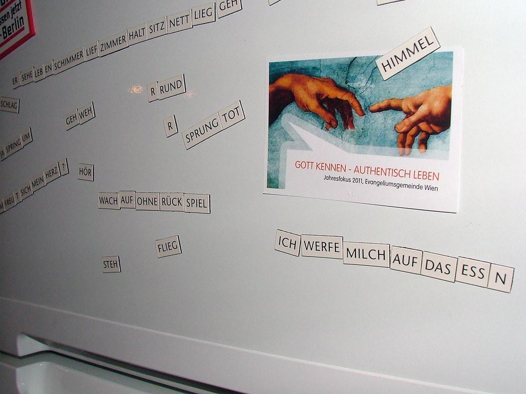 Kühlschrankpoesie : Kühlschrankpoesie liebesbotschaften ebay