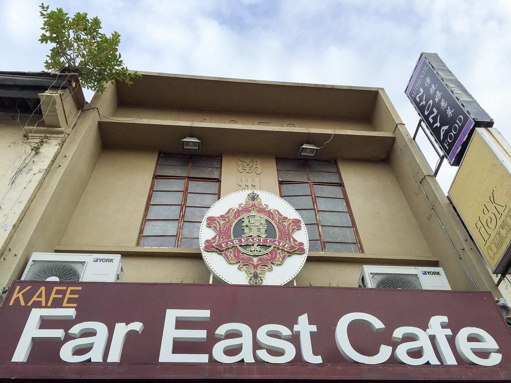 Far East Cafe, Melaka.