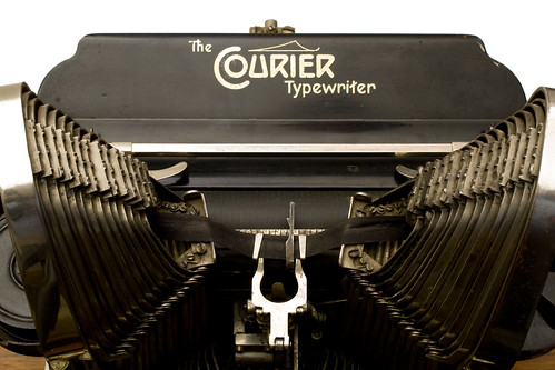 The Courier Typewriter | by shordzi
