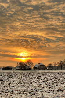 Cold sunrise | by Lennart Batenburg