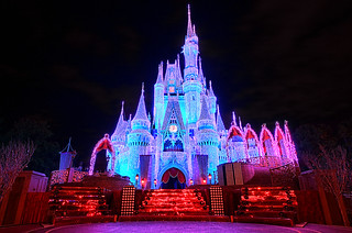 Cinderella Castle Fire & Ice | by Express Monorail